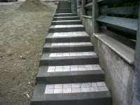 Trepte bicolore din piatra naturala - Placaje din piatra naturala de Vistea