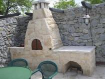 Cuptor rustic de gradina din piatra naturala - Cuptor rustic de gradina din piatra naturala de Vistea