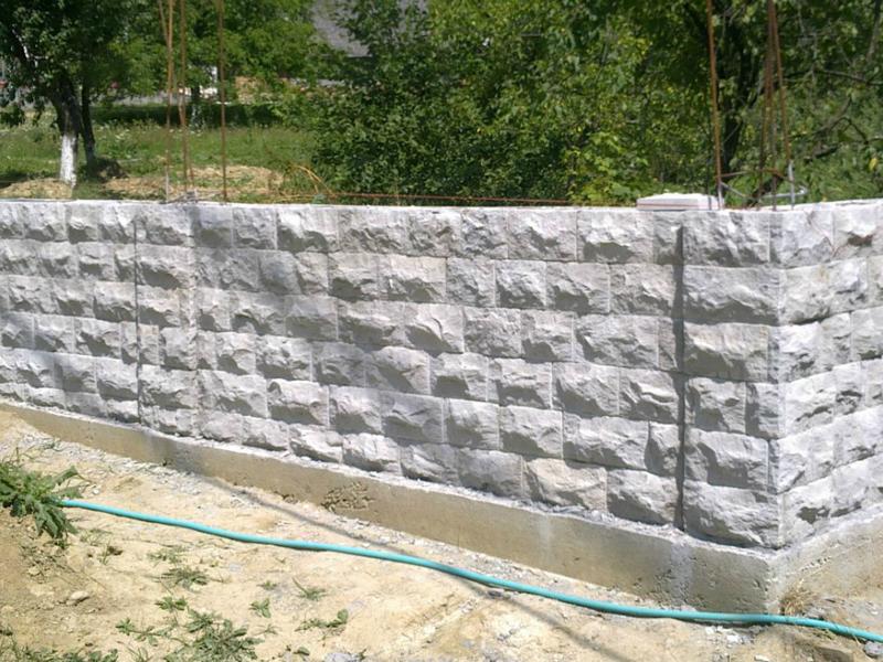 Gard din piatra naturala - Garduri din piatra naturala de Vistea