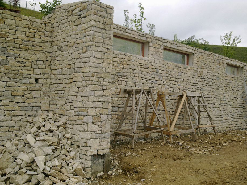 Zidarie din piatra naturala - Zidarie din piatra naturala de Vistea