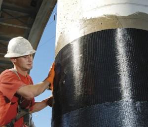 Panza din fibra de carbon pentru consolidari structurale - Consolidari, reparatii betoane