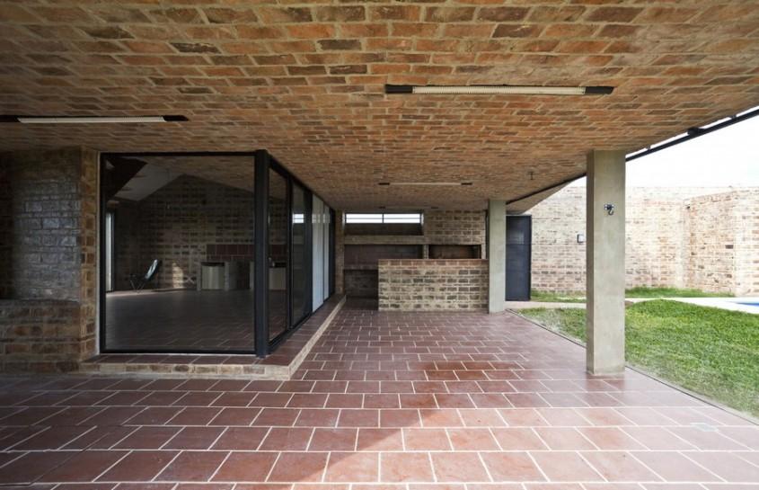 Casa Alejandra7 - Casa Alejandra, constructie din caramida plina realizata manual