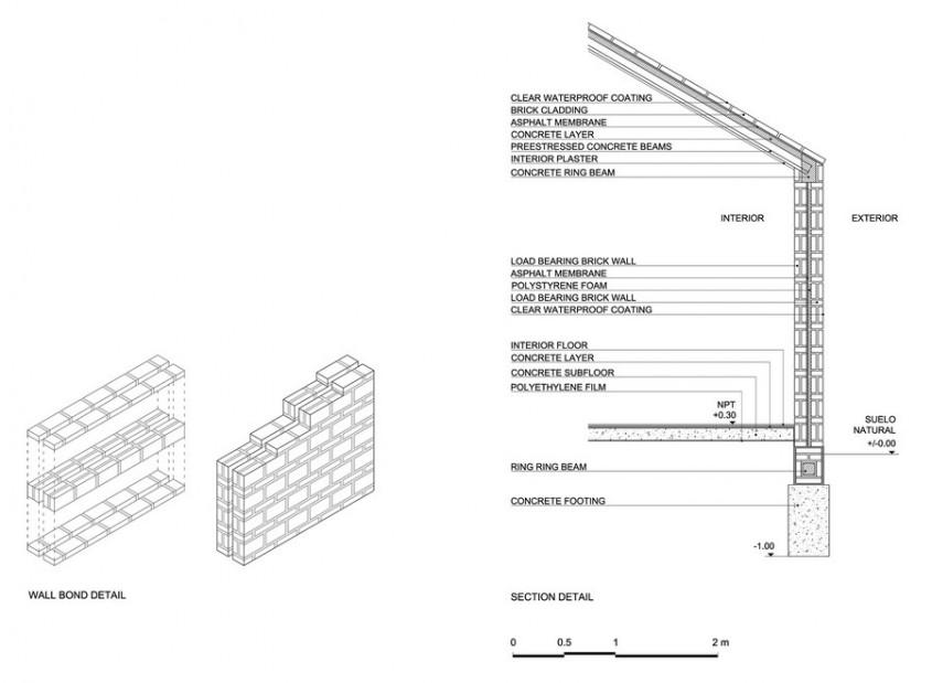 Casa Alejandra15 - Casa Alejandra, constructie din caramida plina realizata manual
