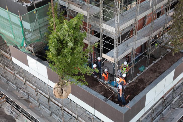 Bosco Verticale11 - Bosco Verticale din Milano, prima padure pe verticala