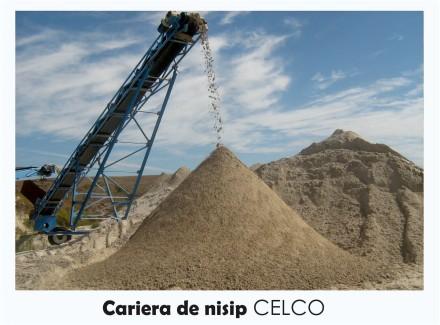 Cariera de nisip - Prezentare CELCO