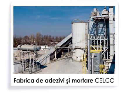 Fabrica de adezivi si mortare - Prezentare CELCO
