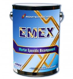 Mortarul epoxidic bicomponent Emex - Mortar epoxidic bicomponent