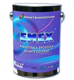 Pardoseala epoxidica decorativa Emex Quartz Colorat - Pardoseala epoxidica decorativa Emex Quartz