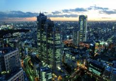Tokyo avea anul trecut aproape 30 milioane de locuitori si se intindea pe o suprafata de cca 2000 km patrati (foto: payris.com) - Mari metropole ale lumii