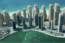Dubai, orasul ai carui zgarie-nori reprezinta o atractie turistica de lux (foto: dubaiwall.com) - Orase dezvoltate pe verticala