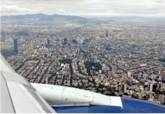 Ciudad de Mexico - Metropole cu peste 20 milioane de locuitori (foto: www.airliners.net)