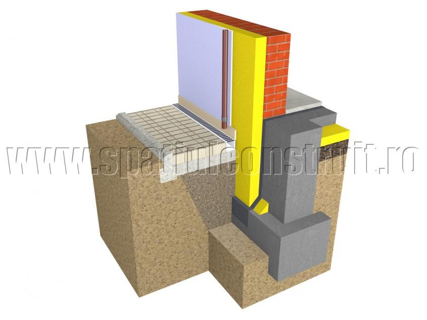 Fundatie la constructii fara subsol - Fundatii