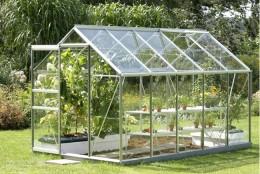 foto: www.allgreenhousesupplies.com - Tipuri de solar prefabricat, care poate fi montat direct in locul dorit
