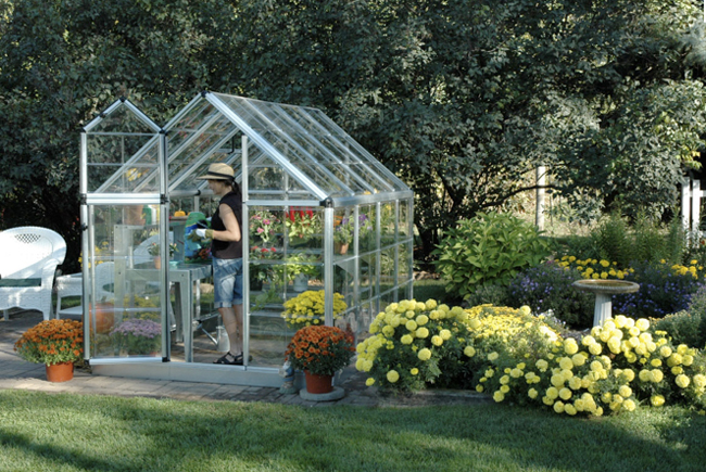foto www easygreenhousegardening com - Tipuri de solar prefabricat care poate fi montat direct in locul