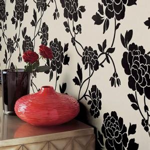 foto: www.ontario-home-builder.com - Tapetul, un material decorativ practic si accesibil