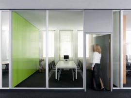 Compartimentari interioare din sticla - FecoCent - Sisteme de compartimentare birouri cu pereti si usi de sticla