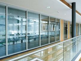 Compartimentari interioare din sticla - FecoLux - Sisteme de compartimentare birouri cu pereti si usi de sticla