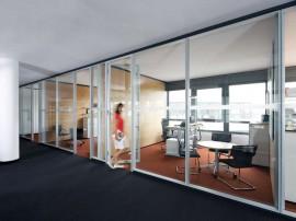 Compartimentari interioare din sticla - FecoStruct - Sisteme de compartimentare birouri cu pereti si usi de sticla