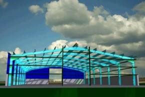 Structura metalica hala industriala - Proiectare structuri metalice