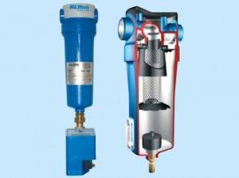 Separatoare cu ciclon - ALMIG - Uscatoare aer comprimat, filtre, separatoare, management condens - ALMIG