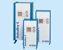 Uscatoare prin adsorbtie - Seria OekoDry C - Uscatoare aer comprimat, filtre, separatoare, management condens - ALMIG