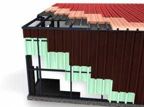 Termoizolare cu PU hale industriale, depozite, structuri metalice - Copertari poliureice
