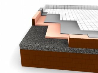 Termoizolare cu PU terasa circulabila, copertare sapa - pardoseli ceramice  - Copertari poliureice