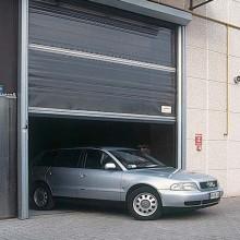 Poarta industriala cu deschidere rapida - SECTOR - Porti industriale cu deschidere rapida - DITEC