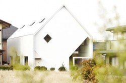 Casa H13 - Casa H: grinzi in Y, plansee suspendate si decupaje neregulate