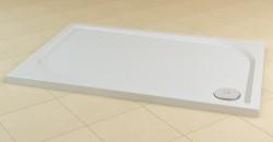 Cadita de dus pentagonala din marmura sintetica WMA  - Cadite de dus