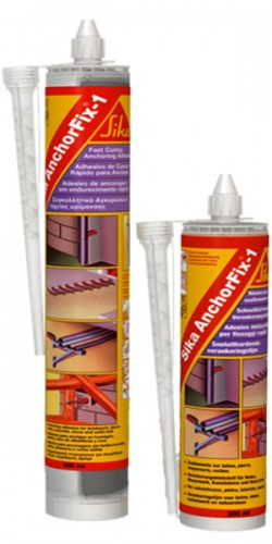 Sika AnchorFix®-1 - Adeziv pentru ancorari cu intarire rapida - Ancore chimice - SIKA
