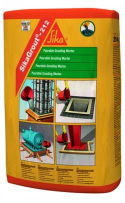 SikaGrout®-212 - Mortar pentru subturnari cu contractii compensate - Solutii de subturnare - SIKA