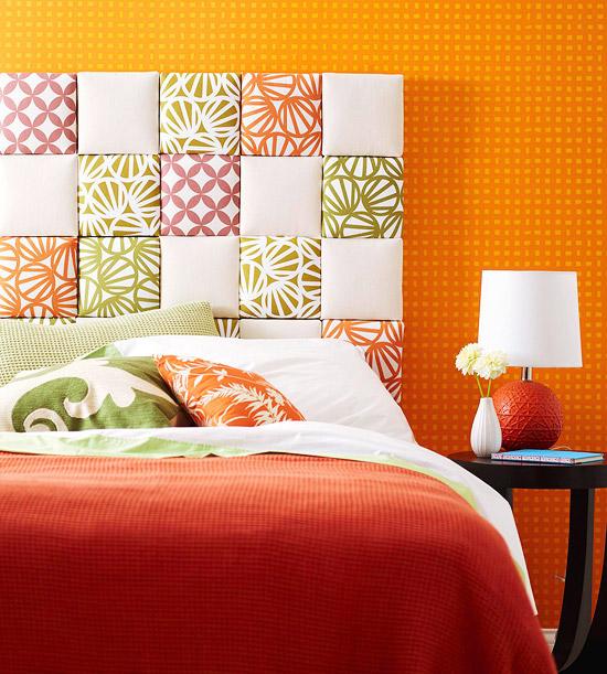 Foto via stagingandredesign.com - Aranjamente pentru capataiul patului. Materiale si idei