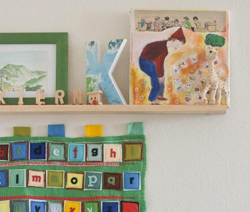 Foto francineclouden.typepad.com - Harti si ghiduri turistice transformate in abajururi, colante pentru mobilier sau tablouri
