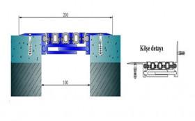AR174-100 - Profile pentru pardoseala pentru rost de 100 mm