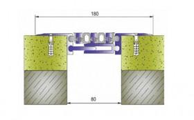 AR173-080 - Profile pentru pardoseala pentru rost de 80 mm