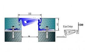 AR712-080 - Profile pentru pardoseala pentru rost de 80 mm