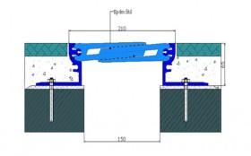 AR 823-150 - Profile pentru pardoseala pentru rost de 150 mm