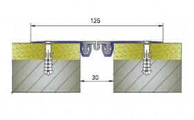 AR262-030 - Profile pentru pereti si tavane pentru rost de 30 mm