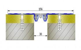 AR251-030 - Profile pentru pereti si tavane pentru rost de 30 mm