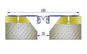 AR255-030 - Profile pentru pereti si tavane pentru rost de 30 mm