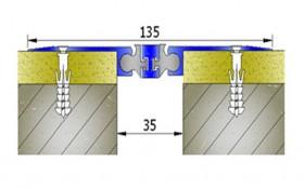 AR258-030 - Profile pentru pereti si tavane pentru rost de 30 mm