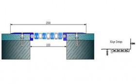 AR259-100 - Profile pentru pereti si tavane pentru rost de 100 mm