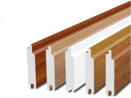 Profile PVC cu nut si feder pentru placari - Profile PVC cu nut si feder pentru placari exterioare - KOMMERLING