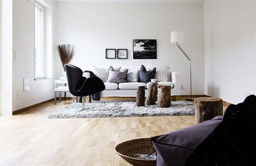 Foto via www.4lifehome.com - Amenajari in stil nordic