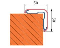 Protectie colt CG50 - Protectii perete - Protectii colt