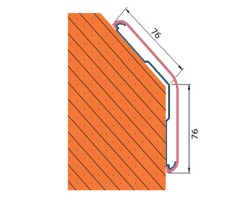 Protectie colt CG76-135 - Protectii perete - Protectii colt