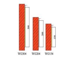 Protectie colt WG154-204-304 - Protectii perete - Protectii colt
