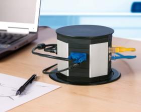 Sistem de management al cablurilor - LIFT - Solutii pentru mobilier birou, sali de conferinta si hoteluri - Facility - BACHMANN