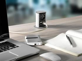 Multipriza  - ELEVATOR OFFICE - Solutii pentru mobilier birou, sali de conferinta si hoteluri - Facility - BACHMANN